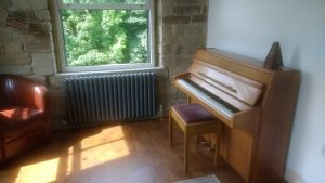 I have a Knight upright piano and a Casio Privia electric piano for those who prefer it. Prices start from £13 per half hour with your first lesson free.